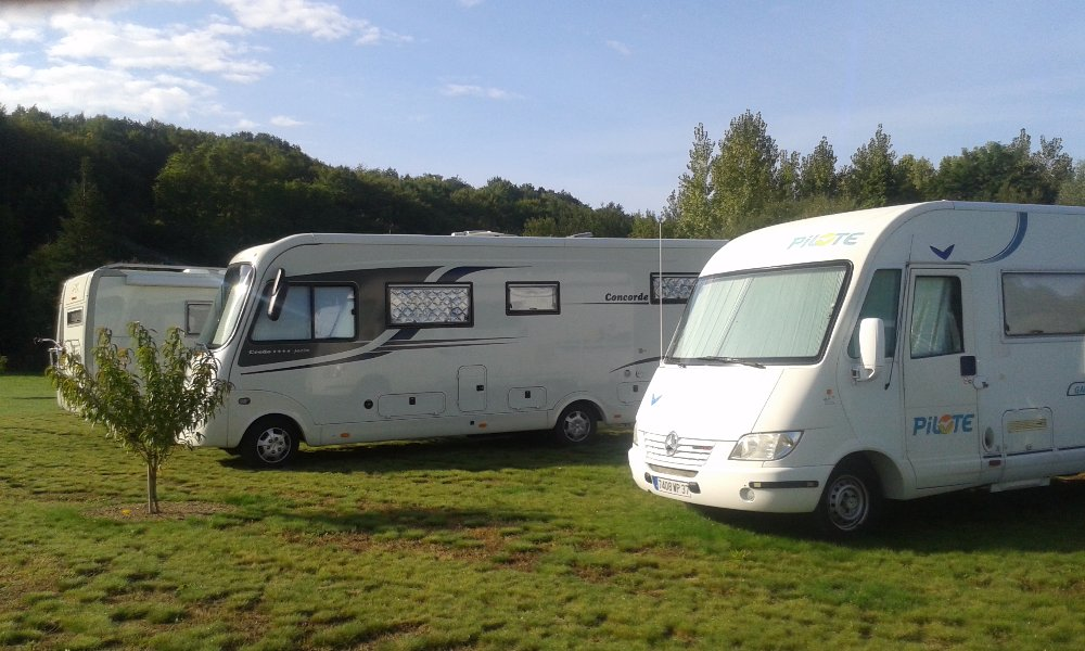 Aire camping-car à Villandry (37510) - Photo 1